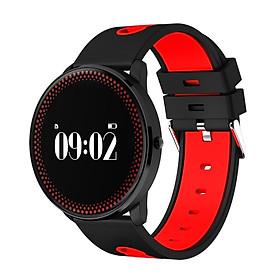 No. 1-Gs8 Smartwatch  Black And Red