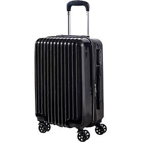 Vali du lịch tay kéo cao cấp chất liệu nhựa PC ABS 20 INCH