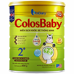 Sản Phẩm Dinh Dưỡng Công Thức ColosBaby IQ 2+ 800g - S