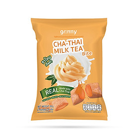 Bánh snack Ngũ Cốc Grinny nhân Trà Sữa - Cha Thai Milk Tea