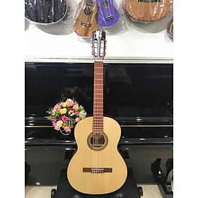 Đàn guitar Classic thùng tròn cổ điển MKC1352T, size 4, vân gỗ, kèm bao da 3 lớp , 1 bộ dây dự phòng
