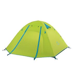 Lều Phượt Du Lịch Cắm Trại 2 Người có Mái Hiên Che Nắng Chống Thấm Chống Nước Gọn Nhẹ NatureHike NH18Z022-P