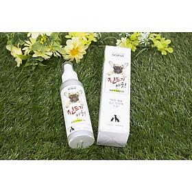 Bình xịt xua đuổi muỗi và côn trùng cho thú cưng Korea Soave Medicated Spray For Cat&Dog 120ml