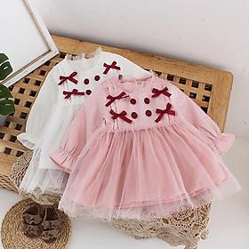VN62Size70-100 (4-16kg)Đầm cho bé gái 1 tuổi đến 3 tuổiThời trang trẻ Em hàng quảng châu