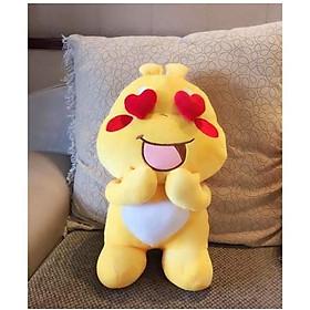 Hình đại diện sản phẩm Gấu Bông Sticker Qoobee Cao Cấp Size Siêu Dễ Thương - Thú Nhồi Bông Sticker Qoobee