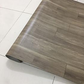 thảm nhựa simili trải sàn vân gỗ xám - bề mặt nhám hiện rõ vân gỗ