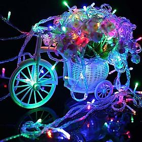 Dây Đèn Nháy LED Trang Trí  5m Nháy Nhiều Màu