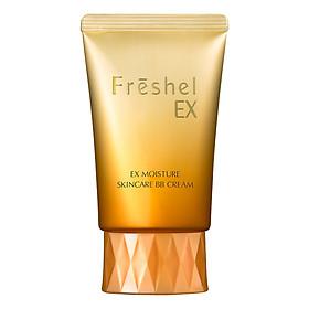 Kem nền trang điểm 5 in 1 cho da khô Freshel Skincare BB Cream Moist 50g