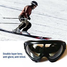 Anti-shock Ski Glasses Off-road Glasses Dustproof Riding Glasses Anti-glare