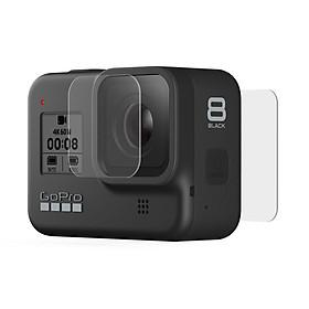 Dán cường lực màn hình + Lens dành cho GoPro Hero 8 Black GOR - Hàng nhập khẩu
