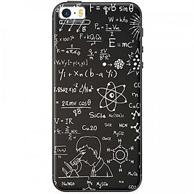 Ốp lưng dành cho iPhone 5, iPhone 5S, iPhone SE mẫu Hóa học