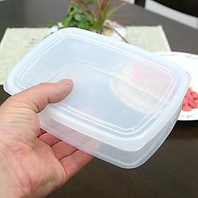 Hộp đựng thực phẩm bằng nhựa PP cao cấp 1.3L - Hàng nội địa Nhật