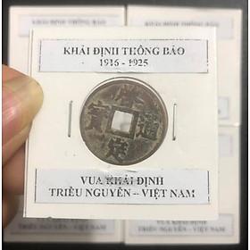 Xu cổ Triều Nguyễn - Khải Định Thông Bảo, vua Khải Định 1916 -1925