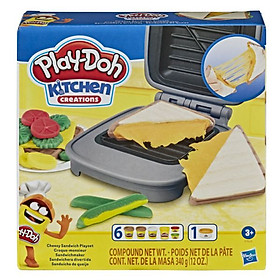 Đồ chơi đất sét PLAYDOH Máy làm bánh sanwich E7623