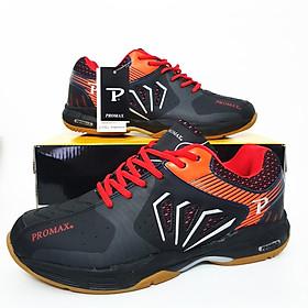 Giày bóng chuyền nam PR -20001 cao cấp màu đen cam