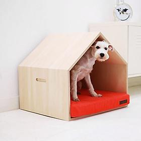 Nhà Gỗ Đáng Yêu Cho Chó Mèo DH005