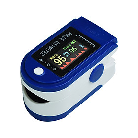 Household Finger Oximeter Pulse Rate Perfusion Index SPO2 Blood-oxygen Data Measurement OLED Display with Automatic