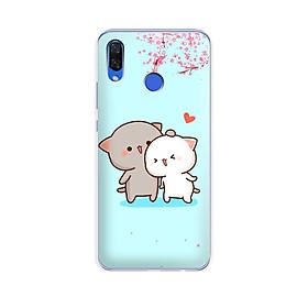 Ốp lưng điện thoại Huawei NOVA 3i - 01142 7871 CUTE15 - Silicon dẻo - Hàng Chính Hãng