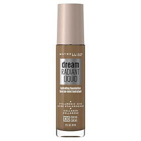 Maybelline Dream Radiant Liquid Foundation 130 Cocoa Online Only