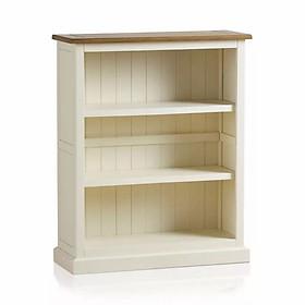 Tủ Sách Thấp Shutter Gỗ Sồi Ibie LSBSSHUO - Trắng (90 x 35 cm)