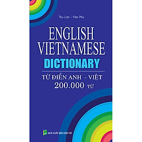 Từ Điển Anh Việt 200.000 Từ