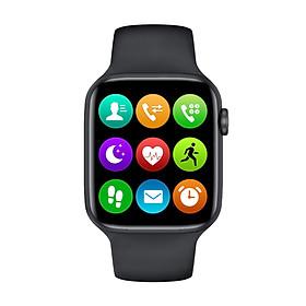 Đồng hồ thông minh cao cấp ANNCOE Watch 6 nghe gọi nhắn tin theo dõi sức khỏe chống nước IP68 - Hàng Chính Hãng