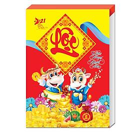 Lịch Bloc 2021 Xuân Tân Sửu bloc đại (14.5 * 20.5)
