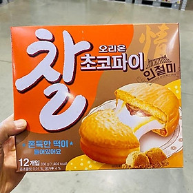Orion Injeolmi Flavored Choco Pie with Glutinous Rice 28g X 12P