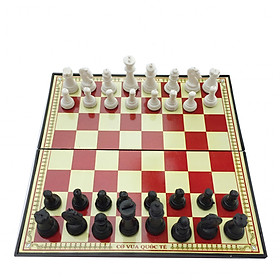 Bộ cờ vua nam châm 31cm x 31cm hộp đỏ