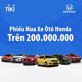 Phiếu mua xe Ô TÔ HONDA - V1