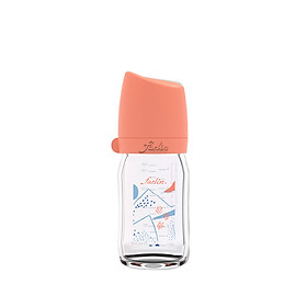 Bình Sữa Thủy Tinh City Bottle - Nepal- 240ML