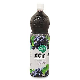 Nước Giải Khát WoongJin Nho Chai 1.5 L - Nhập Khẩu Hàn Quốc