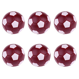 6 Pieces Foosball Table Football Ball