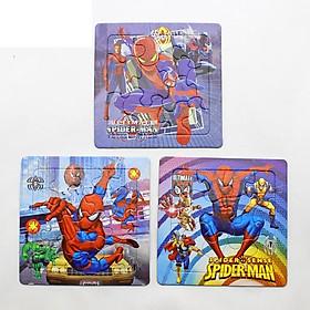 Bộ đồ chơi ghép hình theo set 3 cấp độ 12-16-20 miếng nhiều chủ đề hoạt hình cho bé yêu – DC014