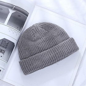 Mũ Len Dệt Kim Thiết Kế Đơn Giản Thời Trang Đường Phố Cổ Điển Cho Nam Nữ - Mã NL000