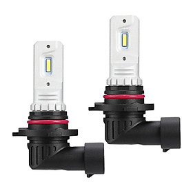 2pcs Auto LED 9006 Fog Lamp Headlight Bulbs 2000LM 80W for Car Trucks IP68