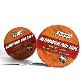 Băng keo chống thấm X2000 chống thấm và chịu nhiệt tuyệt đối rộng 5cm dài 5m