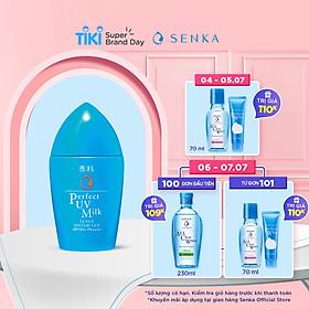 Kem Chống Nắng Dạng Sữa Senka Perfect UV Milk SPF 50+, PA++++ 41095 (40ml)