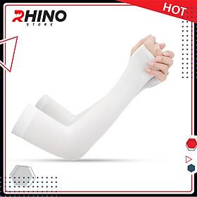 Găng tay xỏ ngón chống nắng Rhino S101, tất tay nam nữ, chống tia UV, chống bụi, Hàng chính hãng