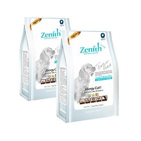 Hình đại diện sản phẩm Combo 2 túi thức ăn hạt mềm chó lớn Zenith (1.2kg x 2 túi)