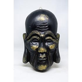 Mặt nạ bằng gỗ trang trí hình Phật với nhiều lựa chọn màu sắc