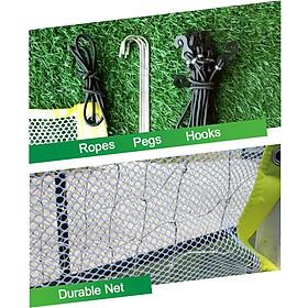 Football Net Goal Practical Yellow White 5 Person System Ball Sports Goalkeeper-5