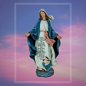 Tượng Đức Mẹ Ban Ơn Beconi 60 cm