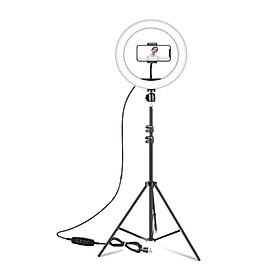 Đèn led ring livestream, chụp ảnh, makeup 26cm CN-R640