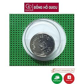 Pin đồng hồ đeo tay nam nữ GUOU loại cúc áo giá rẻ thay pin đồng hồ kim thể thao điệ