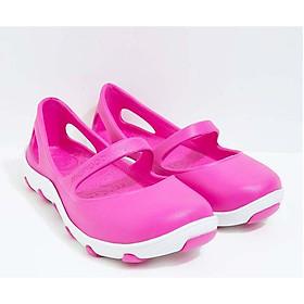 Giày Thái Lan Trẻ Em - Hồng Đậm - Giày Nhựa Chuyên Dụng Đi Mưa Thời Trang, Chống Trơn Trượt