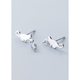 Bông Tai Nữ | Bông Tai Nữ Bạc S925 Thời Trang B2440 - Bảo Ngọc Jewelry