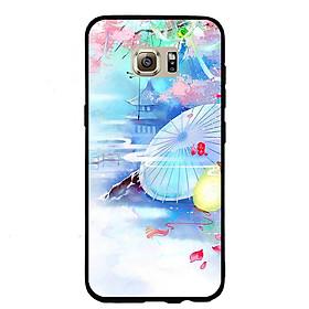 Hình đại diện sản phẩm Ốp lưng viền TPU cho điện thoại Samsung Galaxy S7 Edge - Diên Hi Công Lược Mẫu 7