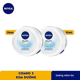 Combo 2 Kem Dưỡng Mềm Da Nivea 89054 (50ml)