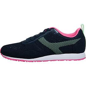 Giày thể thao đế bằng thoáng khí - GN002 Hồng Đen